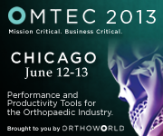 Come and visit us at OMTEC 2013