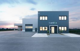 The new buildings of TLS Anilox GmbH in Salzkotten