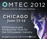 Come and visit us at OMTEC 2012