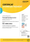 ISO 14001-2015 Certificate